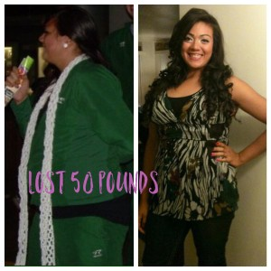 Weight loss results through consistency